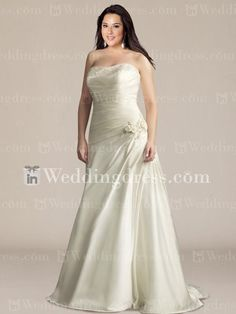 Inexpensive wedding dresses... very cute