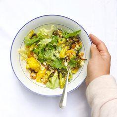 Salade met couscous en gegrilde groenten made by ellen