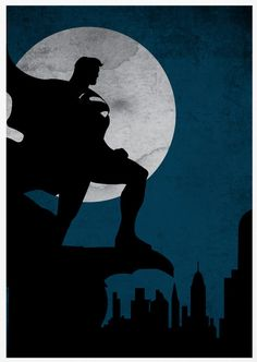 Superman Poster A3 Print by sanasini on Etsy, $18.00