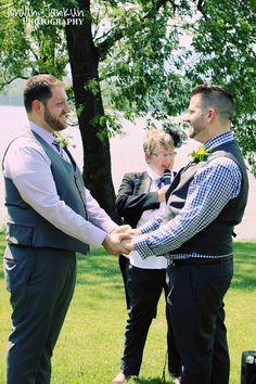 What a gorgeous day for a wedding ceremony in The Sheepfold.  { Tux and Russell }, June 2013