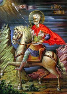 Αγ.Μηνας «ο Εν Τω Κοτυαειω» Ο Μεγαλομαρτυρας (; - 304)  ___ nov 11 ( Whispers of an Immortalist: Icons of Martyrs 1