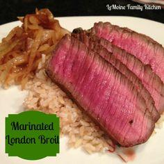Marinated London Broil recipe