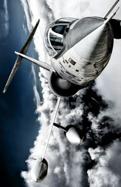 · #digital photography #airplane #imagination #aircraft #clouds #outer space…