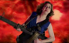 Pretty hilarious Xperia Play ad. Mad props, Kristen Schaal!