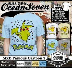 Kaos Kartun | Shincan Pokemon Pooh http://dakocanclothing.com/kaos-kartun-shincan-pokemon-pooh/