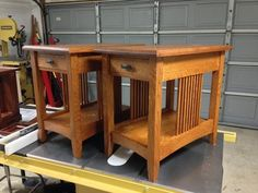 Mission End Tables