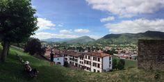 Vistas desde la Ciudadela de Saint Jean Pied de Port.