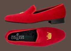 Belgian Dandy: Velvet Slippers: Matthew Cookson Paris