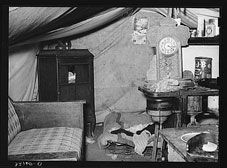 Migrant Tent by Russell Lee, Feb. Wouldn't be the first time. Great Depression Years, Vintage Postcards, Vintage Photos, Harlingen Texas, Economic Depression, Texas Parks, Rio Grande Valley, Migrant Worker, Dust Bowl