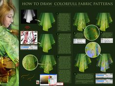 patterned fabrics by oione on DeviantArt