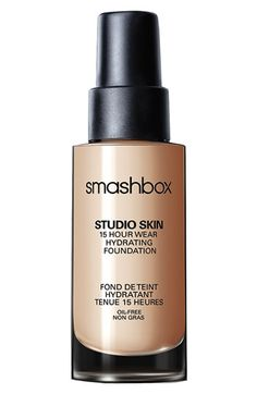 Smashbox 'Studio Skin' 15 Hour Wear Foundation available at #Nordstrom...this stuff is amazing