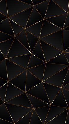 MuchaTseBle Gold Wallpaper Android, 3d Wallpaper Black, Geometric Wallpaper Iphone, Original Iphone Wallpaper, Mosaic Wallpaper, Wallpaper Stencil, Phone Screen Wallpaper, Graphic Wallpaper, Apple Wallpaper