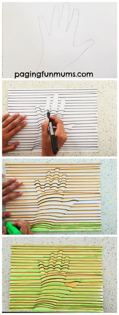 3D Hand Step by step