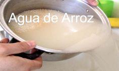 ¿Sabías que el agua que usas para cocer el arruz es muy saludable? ¡¡Mira!!