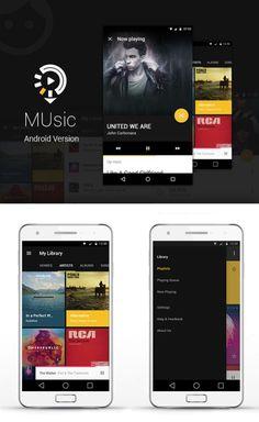 "Check out my @Behance project: ""Music App"" https://www.behance.net/gallery/37107517/Music-App"
