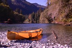 Canoeing at Burman River, BC