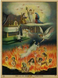 Il sacrificio eucaristico libera le anime dal purgatorio