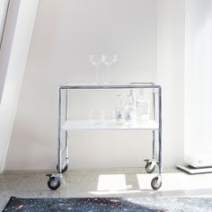Barwagen SIR, Design Frank Urech fuer MOX Stolz Wie Bolle, Bar Cart, Furniture, Design, Home Decor, Tables, Floor Covering, Nice Asses, Decoration Home