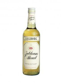 Aalborg Jubilæums Aquavit : Aalborg Jubilæums was created in 1946 to celebrate the centenary of Aalborg Taffel and is the most exported aquavit today.   Aalborg Jubilæums is a golden and pleasant premium aquavit, prsented in a contemporary and exclusive bottle.   The refined taste of dill and coriander makes it the perfect choice for any good meal, in particular light and simple modern cuisine. It is best enjoyed chilled, but can also be enjoyed at room temperature. Whiskey Bottle, Vodka Bottle, Aalborg, Coriander, Contemporary, Modern, Sweden, Liquor, Special Occasion