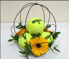 Tennis ball cage design