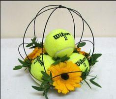 Tennis ball cage design