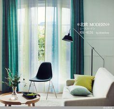 Rideaux salon - 30 idées de rideaux modernes | Pinterest