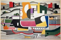 Fernand Léger (French, 1881-1955) Title	Steamboat	1923 oil on canvas Musée National Fernand Léger, Biot, France Art, Archaeology and Architecture (Erich Lessing Culture and Fine Arts Archives) ID Number	40-12-02/36