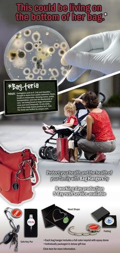 #Perfect #Idea for #Mother's #Day: Prevent Bag-teria™ with EMT Bag Hangers. Visit www.EMTeasy.com for more information!