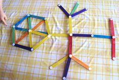 11 Ideias de Artesanatos Infantis com Palitos de Picolé