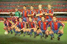 Equipos de fútbol: BARCELONA contra Real Madrid 08/01/1994