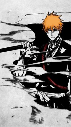 This page features Bleach figures from the popular anime titled Bleach. Feast your eyes as Rykamall features these figures and items just for you. Ichigo Manga, Manga Anime, Ichigo Y Rukia, Manga Art, Anime Art, Bleach Anime, Rukia Bleach, Bleach Fanart, Shinigami