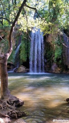 Travel Around The World, Around The Worlds, La Cascade, Photos Voyages, Forest Landscape, South Of France, Science And Nature, Places To Go, Waterfall