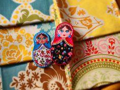 La mercerie inspirée du folklore russe : les Matriochkas de Noël | Mercerie Créative - Couture Facile I Paritys