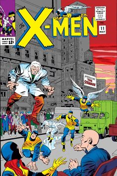 X-Men #11, May, Where Walks The Stranger. The Stranger is IMHO one of the most intriguing characters in the Marvel Universe.