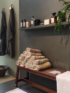 Lapuan Kankurit USVA towels at Conran shop in London