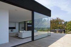 Image detail for -... Modern Villa Skäret Sweden Glass Wall With Sliding Door – GriyaKulo