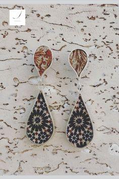 Azulejo português/cork/earrings