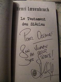 Quais du Polar 7th edition - Lyon - Henri Loevenbruck (2011) Henri Loevenbruck, Lyon, Bullet Journal