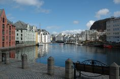 View from the beautiful Brosundet in Ålesund, Norway, in May 2013.  Photo: bestnorwegian.com