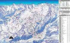 Ischgl Piste Map (High resolution / .JPEG) #ischgl #skiing #austria