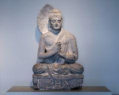 Spread of Buddhism-Buddha statue in Pakistan