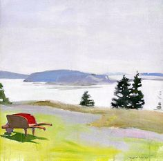 Fairfield Porter--The Barred Islands