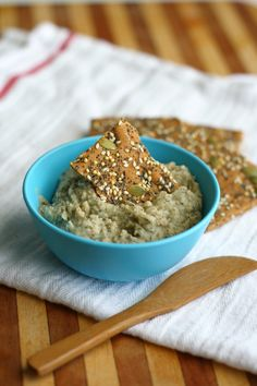 White Bean Dip with Lemon and Dill. - The Pretty Bee
