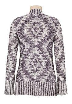 ethnic print blanket cardiwrap - maurices.com