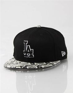 new product a4bdf 65f4d LA Dodgers Team Snake New Era Snapback Cap. Route One · Snapbacks · Mitchell    Ness Charlotte Hornets ...
