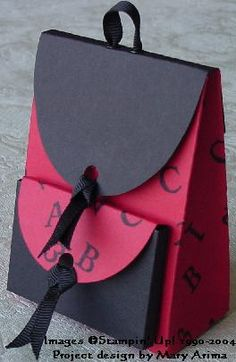 paperfrenzy: Schulrucksack nach Anleitung von Splitcoaststampers mit Vorlage zum Ausdrucken, hier: http://www.splitcoaststampers.com/resources/tutorials/backpackbox/ --> schöne Idee zur Einschulung