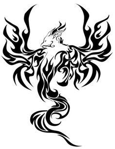 pictures of tribal phoenix bird | ... phoenix tattoos and designs phoenix bird tattoos and more we have over