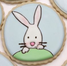 How to prevent air bubbles in royal icing (Part 2)....CUTEST COOKIES EVER.
