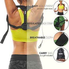 8b596144a Posture Corrector for Women   Men - Posture Brace - Adjustable Back St –  WrinkledHippie Perfect