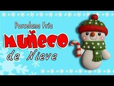 Muñeco de Nieve en porcelana fría / Snowman in cold porcelain / Patty Creativa - YouTube
